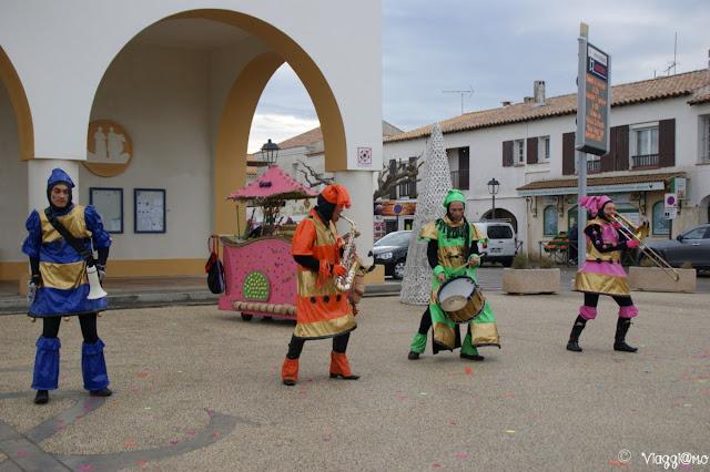 Spettacoli cittadini in occasione delle festività di capodanno