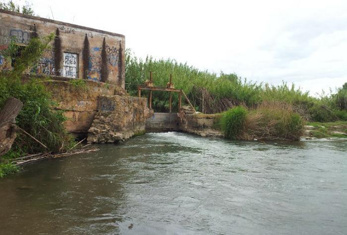 Azud acequia de Moncada
