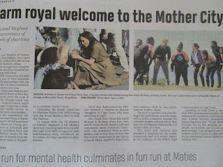 Duke and Duchess of Sussex extensive Cape Town Press Coverage
