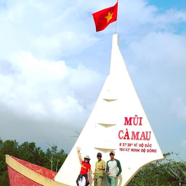 Bano Mũi Tàu - biểu tượng tỉnh Cà Mau
