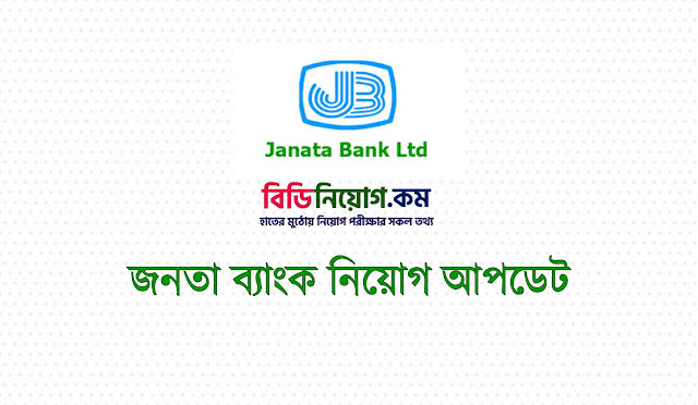 Janata Bank Limited (JBL) Exam Question Solution 2019 | Download