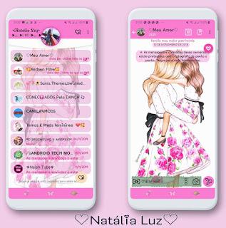 Mom & Baby Theme For YOWhatsApp & Fouad WhatsApp By Natalia Luz