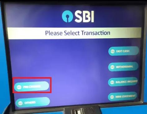 Select pin change