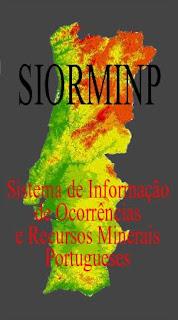SIORMINP - Sistema de Informação de Ocorrências e Recursos Minerais Portugueses