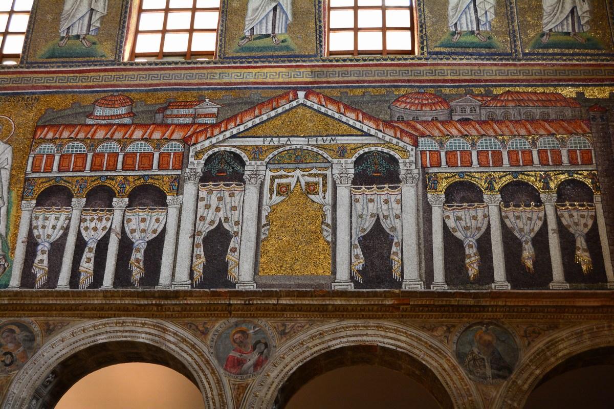 Palais de Théodoric Ravenne