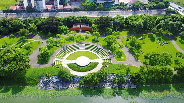 công viên cây xanh mipec