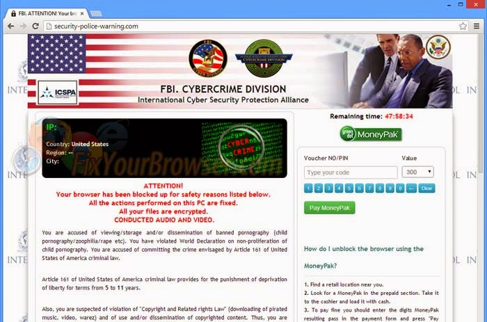 Remove All Computer Viruses: Get Rid of Security-police