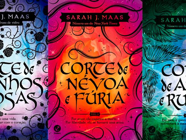 [Resenha] Trilogia Corte de Espinhos e Rosas - Sarah J. Maas