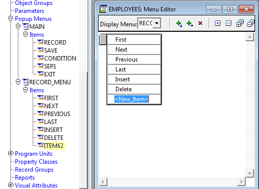 How to Create Pop Up Menus in Oracle Forms ? | InfoTechSite