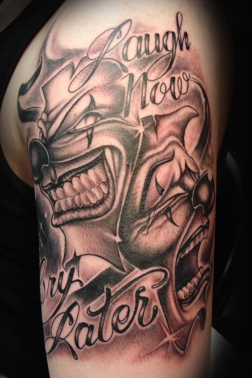 joker tattoo designs pictures - photo #35
