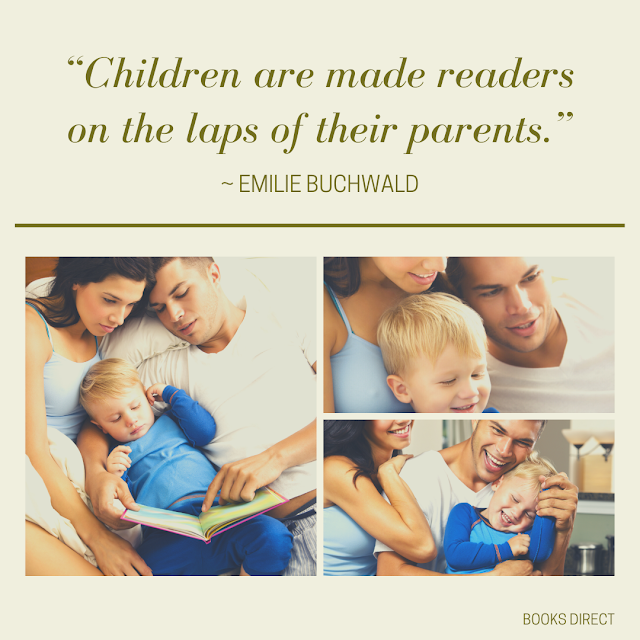 """""""Children are made readers on the laps of their parents.""""  ~ Emilie Buchwald"""