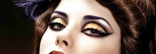 Como maquillarse los ojos en NocheVieja