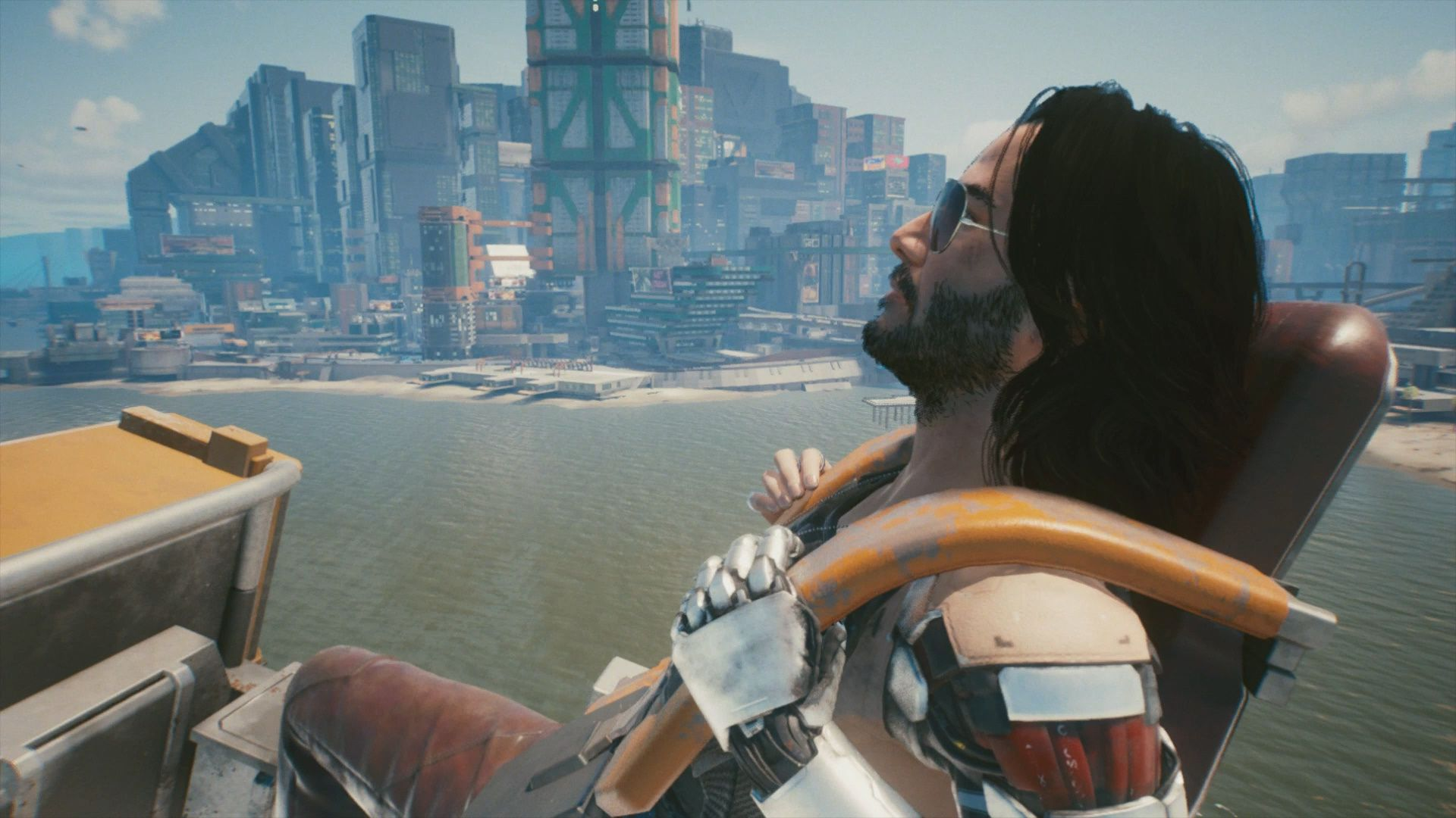 How To Ride A Rollercoaster With Johnny Silverhand In Cyberpunk 2077
