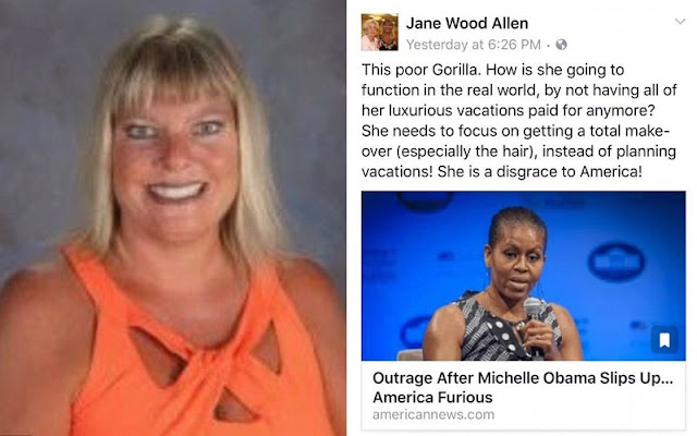Racist Teacher's Aide Has Been CANNED! Posting Recklessly on Social Media Is a NO NO!