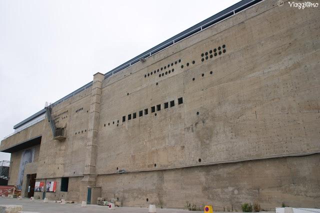 Il Bunker del complesso della Base sottomarina di Lorient