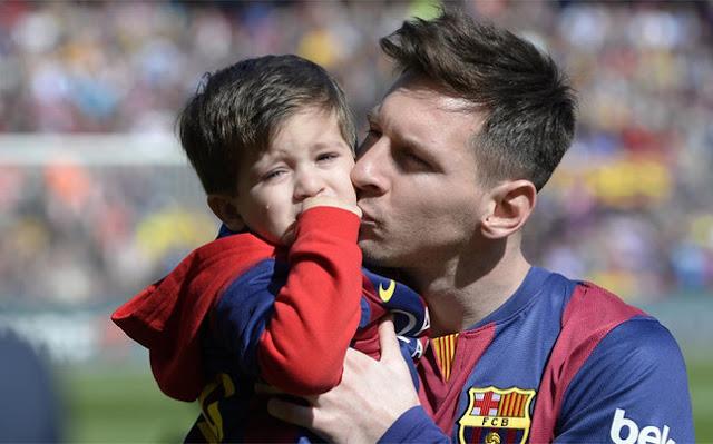 ابن ميسي, ليونيل ميسي, نجل ميسي, كرة القدم