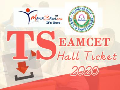 Telangan Eamcet Halltickets 2020
