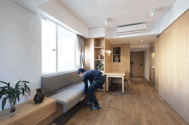 Nội thất không gian phòng bếp