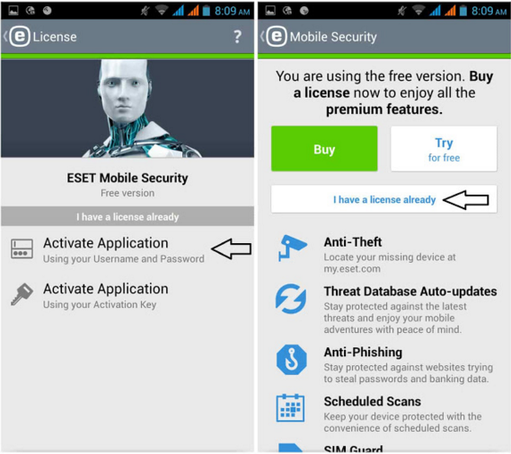 ESET Mobile Security & Antivirus PREMIUM APK Full