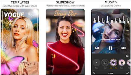 Vidos App Download - Cap Cut - Video Editor and Beat Music Maker