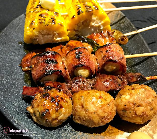 Yakitori Set from Tori Ichi BGC