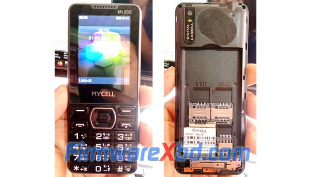 Mycell Mi202 Flash File 6531E Official Firmware 00% Tested
