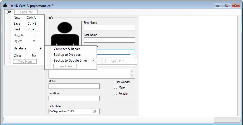 vb  net google drive api source code example