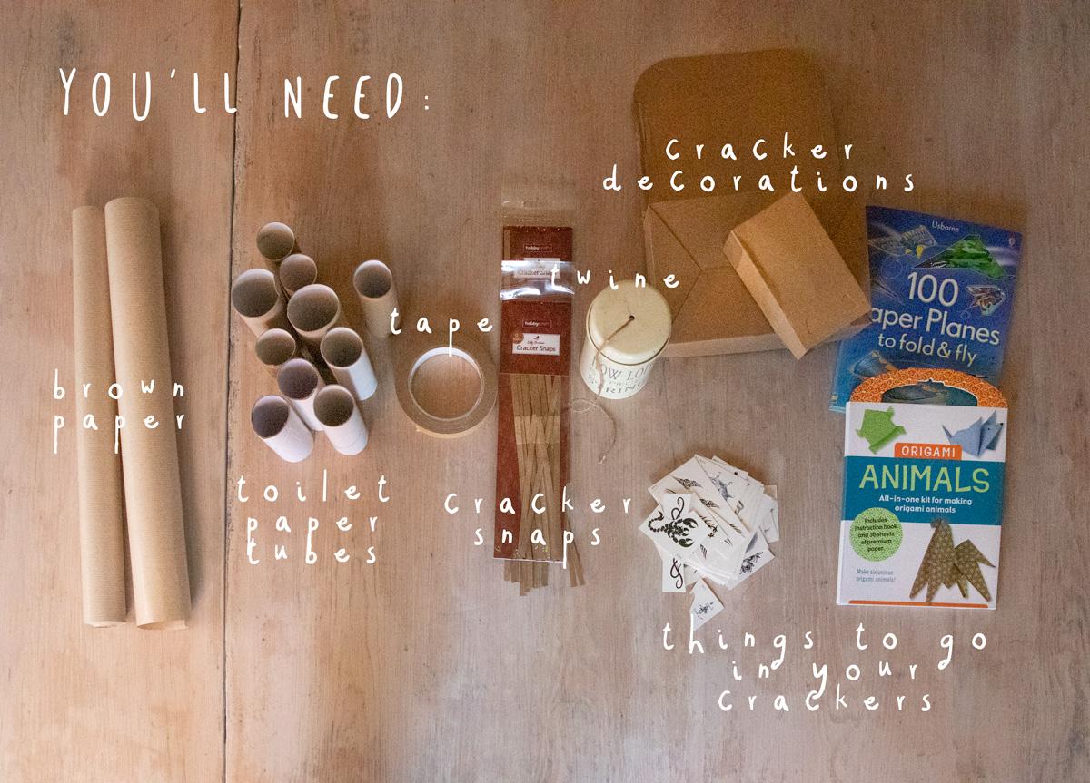 How To Make Plastic Free Christmas Crackers