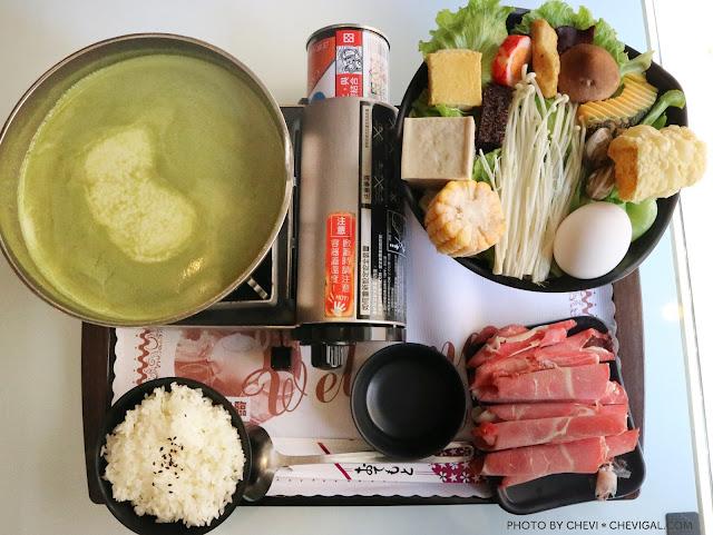 IMG 4071 - 台中龍井│板田精緻小火鍋。什麼口味的火鍋都不稀奇,但是你有吃過抹茶火鍋嗎?