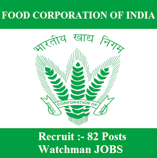 Food Corporation of India, FCI, FCI West Bengal, FCI West Bengal Admit Card, Admit Card, fci west bengal logo