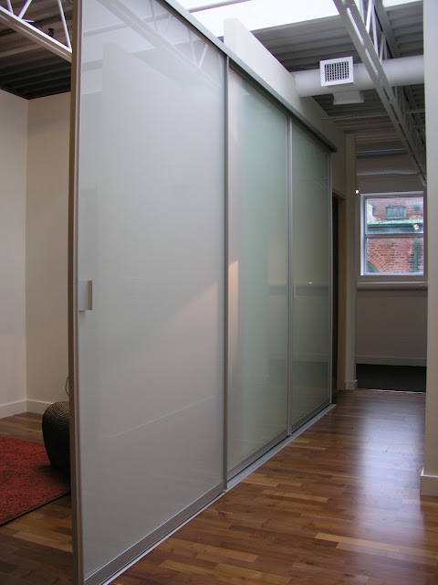 3 PANEL SLIDING PARTITION NEW YORK