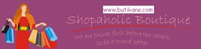 Shopaholic Boutique  di website www.butikane.com