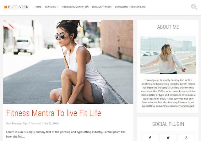 blogster-news-template