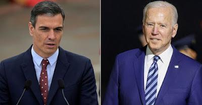 """محاولة أخرى يائسة من رئيس الحكومة الاسبانية لإقناع """"بايدن"""" بالتراجع عن الاعتراف بسيادة المغرب على الصحراء المغربية"""