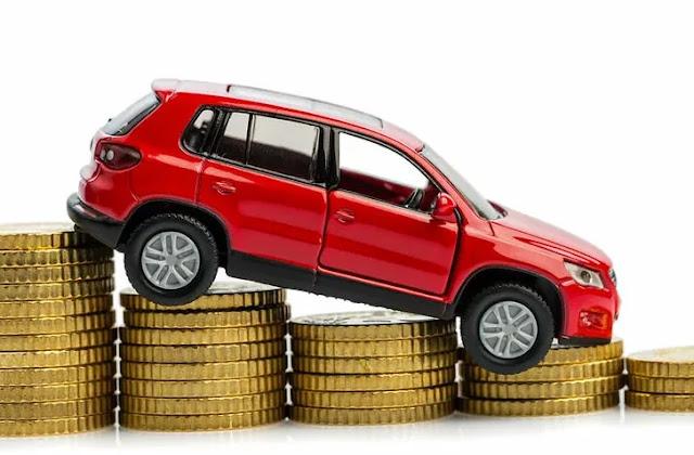 Цена продажи бу авто идет сверху вниз