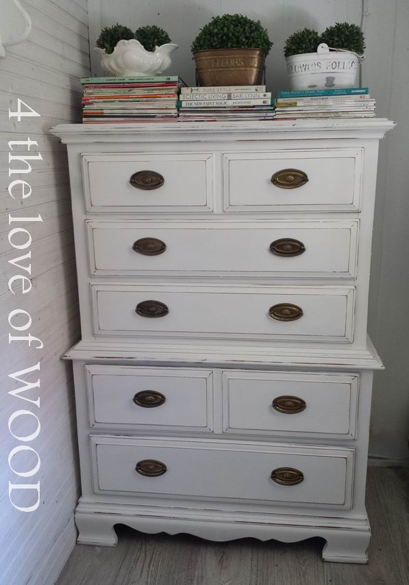 4 the love of wood: PAINTING BEDROOM FURNITURE - using ...