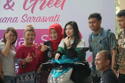 Meet & Greet di event Mio S Roadshow Concert Semarang