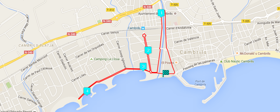 TomTom Night Running Series Cambrils
