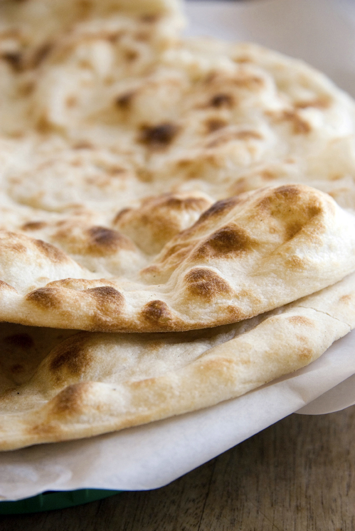 We Don't Eat Anything With A Face: Easy Naan Recipe