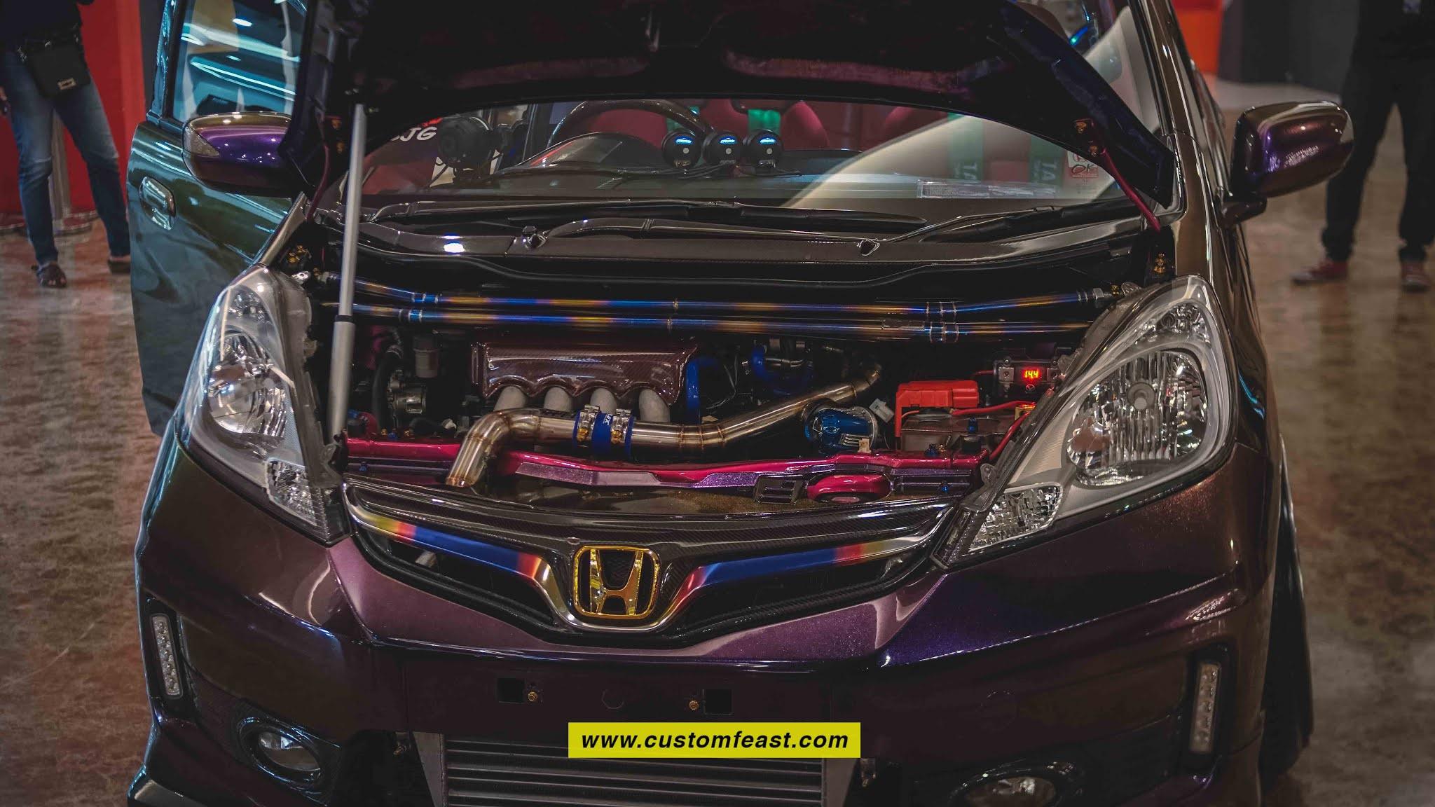 Honda Jazz GE 8 Modified