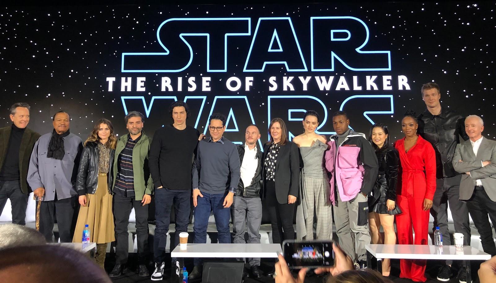 The Star Wars Underworld The Rise Of Skywalker Cast Crew Interviews