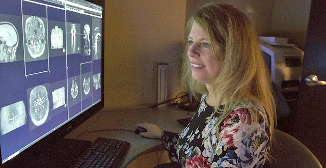MUSC neuroradiologist Dr Donna Roberts has found that widespread structural changes in the brain can affect cognitive function and performance of humans living and working in space. Photo by Sarah Pack