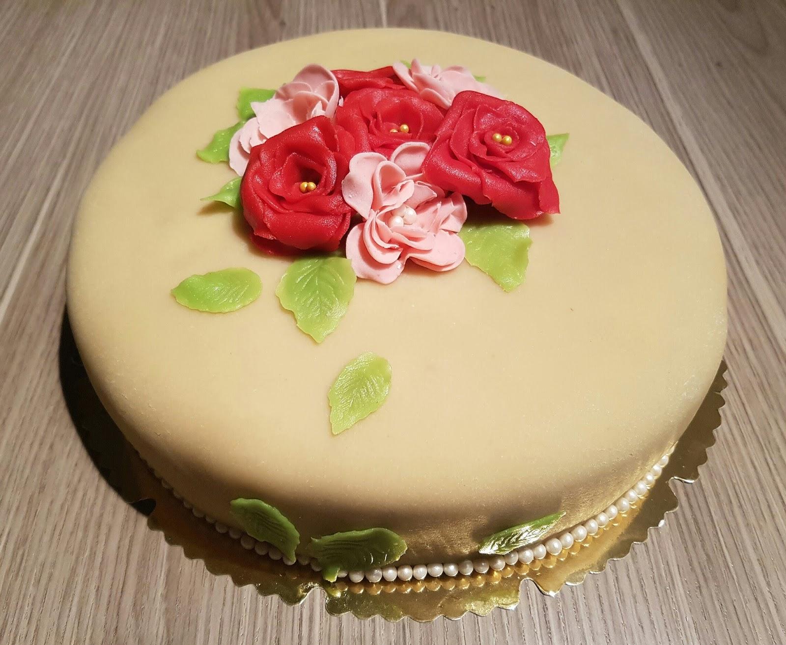 Marzipan Lebkuchen Torte Zur Goldenen Hochzeit