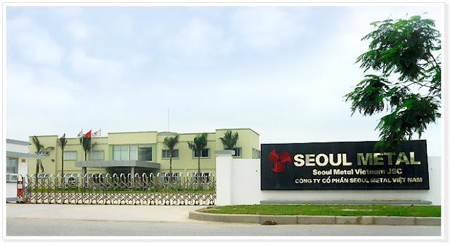 Công ty Cổ phần Seoul Metal Việt Nam (SMV)