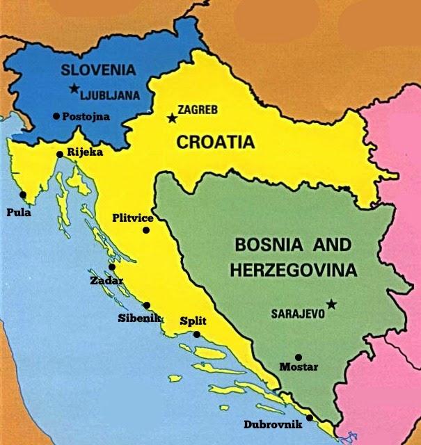 El cincel de Michelangelo: Viaje a ESLOVENIA, CROACIA Y BOSNIA ...