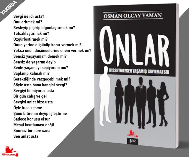 Onlar, Osman Olcay Yaman, Kırmızı Leylek Yayınları