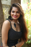 Aswini in lovely Deep Neck Sleeveless Black Dress Spicy Pics ~  Exclusive 12.JPG