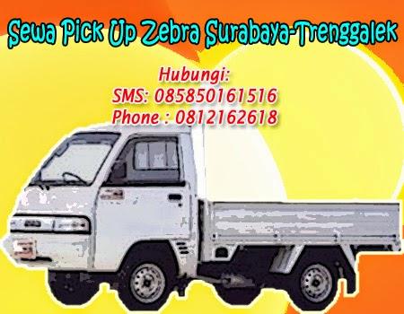 Sewa Pick Up Zebra Surabaya-Trenggalek