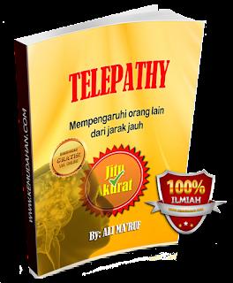 buku telepati, kekuatan pikiran, ali ma'ruf