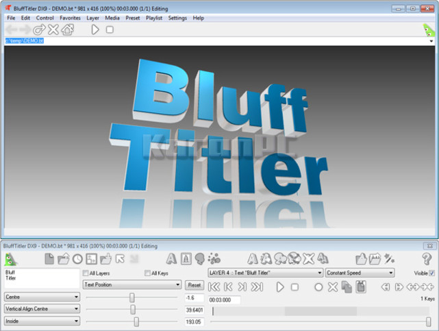 blufftitler dx9 crack download